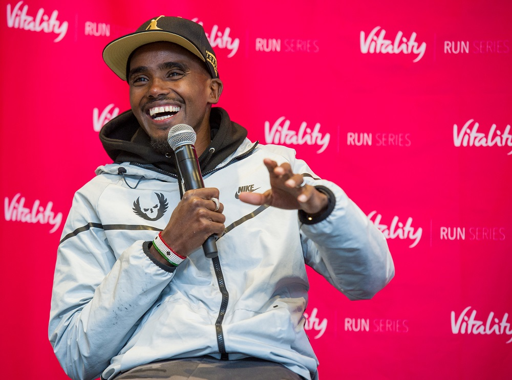 Mo Farah talks training, racing, recovery and nutrition…