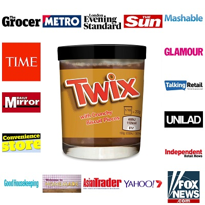 TWIX Spread – Capturing the World's Attention!