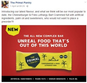 The Primal Pantry April Fools