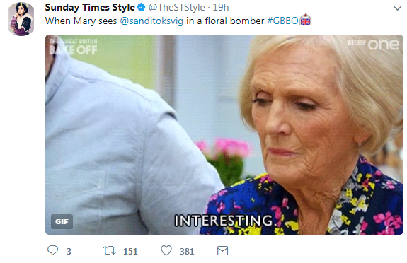 BAKE OFF IS BACK!