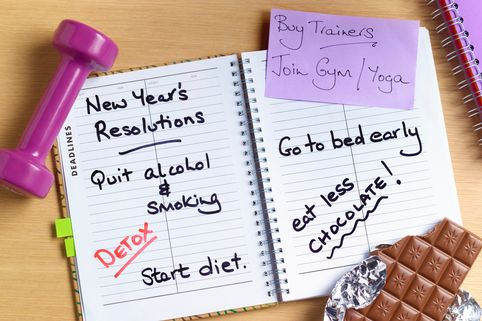 IS IT TIME TO DITCH NEW YEAR'S RESOLUTIONS?