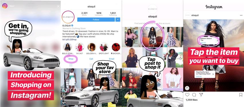 Getting on Board with Insta-nt Shopping!