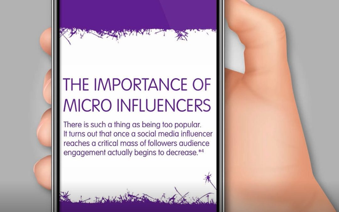 THE RISE OF THE MICRO INFLUENCER: Is there now such thing now as being too popular on Instagram?