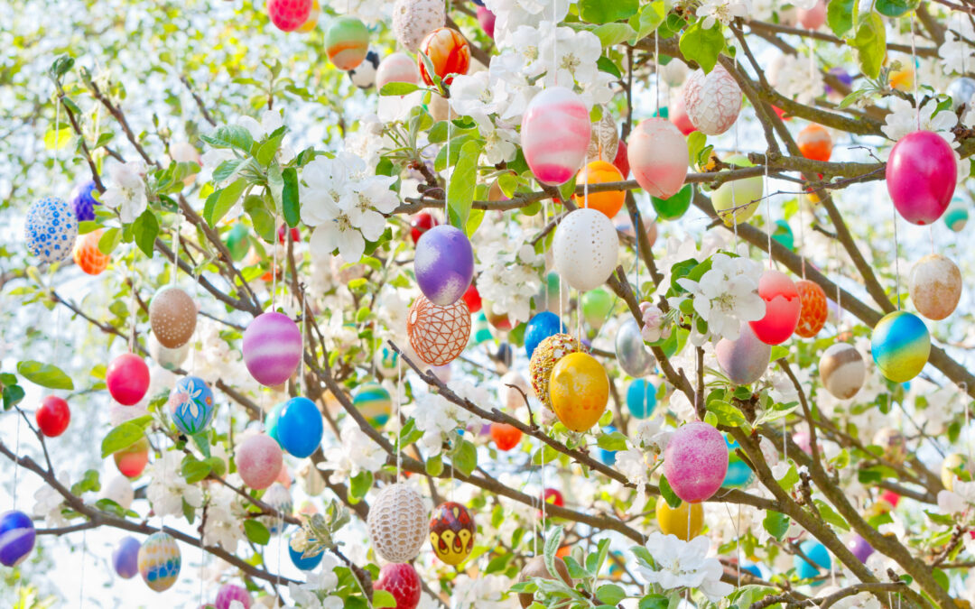 Forget Christmas, it's all About the Easter Tree