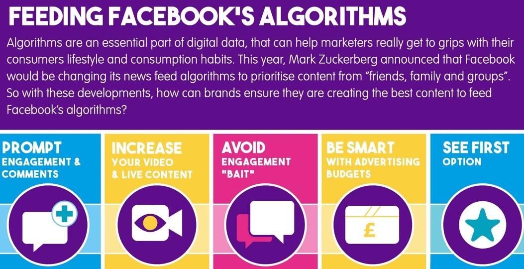 Feeding Facebook's New Algorithms